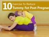 Reducing Tummy Flab After Childbirth